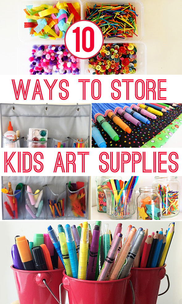 arts and crafts storage ideas 10 ways to materials childhood101 5907